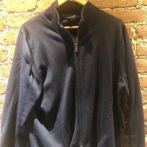 Brooks Brothers Supima® Cotton Full-Zip Cardigan